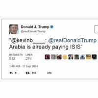 サウジでトランプ米大統領はアル・カイダとの関係や9/11に関する疑惑に触れず、イランを攻撃