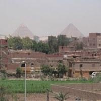 「エジプト・トルコ旅行記」 №140 ホテルからのピラミッド