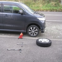 タイヤ交換(その2)