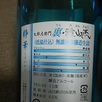 ブログ170107 銘酒 雅山流
