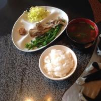 舞茸とキヌアの炒めもの