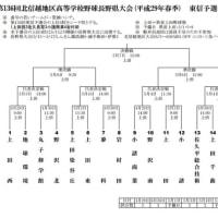 第136回北信越地区高等学校野球 長野県大会 東信予選会 組み合わせ