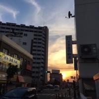 五月の青空と夕焼け🈳🌆
