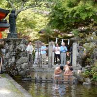 奈良の秘境 十津川温泉 経由 洞川温泉