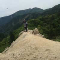 ここ一番の厳しい山登り