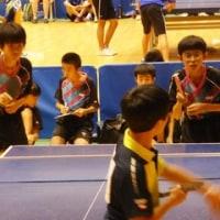 卓球部 平成28年度静岡近隣中学交流卓球大会
