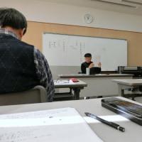 「宝和洋画会」A 12月前半は 講義と実践