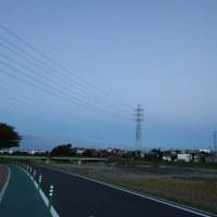 10月27日、初冠雪後の富士山 &強化月間コスモス~♪
