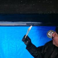 船底塗装準備②