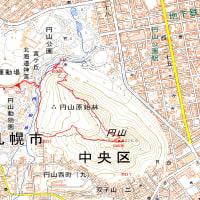 円山のGPSトラック