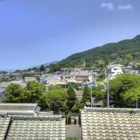生駒山山麓風景/東大阪市上六万寺町1丁目から撮影