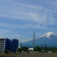 今日の富士山。5月22日