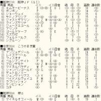 「阪神JF」未掲載12頭のカバラ暗示とWIN5対象レースのカバラ暗示付き出馬表