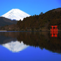 箱根からの富士山【神奈川県箱根町】