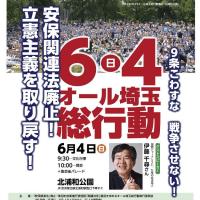 週末集会デモの紹介(都内・埼玉)