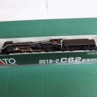 KATOの2019-1 C62下がりつばめと2019-2 C62東海道形