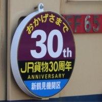 5087レ EF65-2139 JR貨物30周年記念冠付