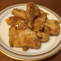 「鶏ムネ肉の甘辛レモン炒め」を作ってみた