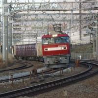 2017年1月17日  東海道貨物線  大船 EH500-38  2079レ