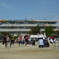 秋晴れの中、地区の集い市民体育祭