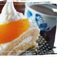 最後の日のケーキ