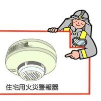 火事の被害を大きくしないために
