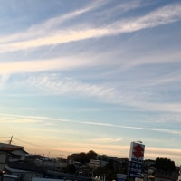 素晴らしい夕焼け雲🌆
