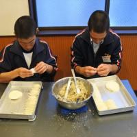 中野島中学校2年生の職業体験
