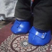 ボクの お靴ができました