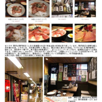 横浜で一人酒① 以前よく利用した関内第1ビル地下「まぐろや」。「おつかれさまセット580円」