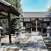 山城の神社・・・八幡市岩田・式内「石田神社」(いわたじんじゃ)