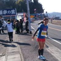 走ってきました。
