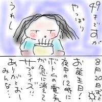 夏休みの宿題…絵日記