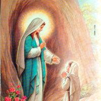 ルルドの聖母 (ルルドに於ける聖母マリアの御出現) Apparitio B. V. Immaculatae in Lourdes