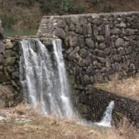 22日の散歩は小さなダム湖まで。