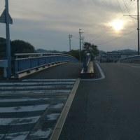"""県道田村高須線""""妹背橋""""に歩道橋を!署名3515筆を提出。"""