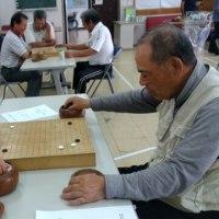 老人クラブの囲碁大会
