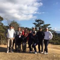 中学の同級生とゴルフ