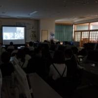 修学旅行思い出VTR上映会 10.24