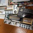 無線機の表示画面の液晶不良修理・・・ジャンク品から部品取りです。