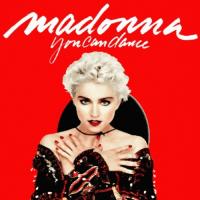 カメレオンの独り言-1712 『マドンナ (Madonna) - True Blueをバックにネットを歩く』