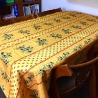 プロヴァンスプリントのテーブルクロス La nappe provençale