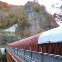 20161022_札幌市民カレッジ、定山渓水管橋トンネル見学ツアー