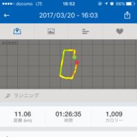 ジョギング記録・27