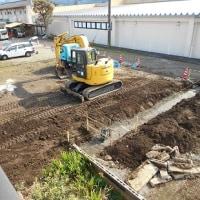 賃貸ワンルームの建設が始まった