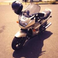 久々にバイクに乗る