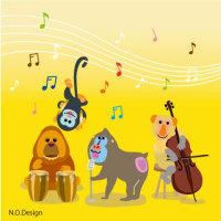 オペラの日 猿の音楽隊