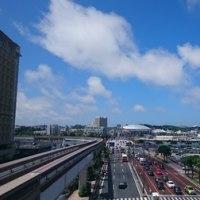 今日の沖縄も