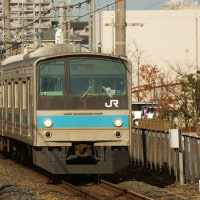 2016年12月6日 阪和線 堺市  205系 38 HI604編成