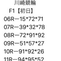 2/20 川崎競輪 F1 初日